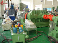 1500kg / h 400KW Alloy wear ring 160L Internal Mixer Machine Thin oil lubrication system
